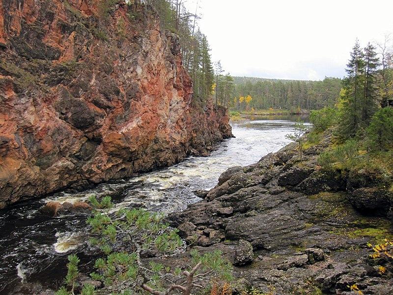 На фотографии не Норвегия, а Куусамо, наш финский север