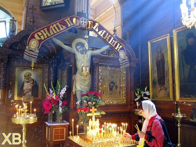 И много времени я проводила в церкви во имя святого преподобного Серафима Саровского