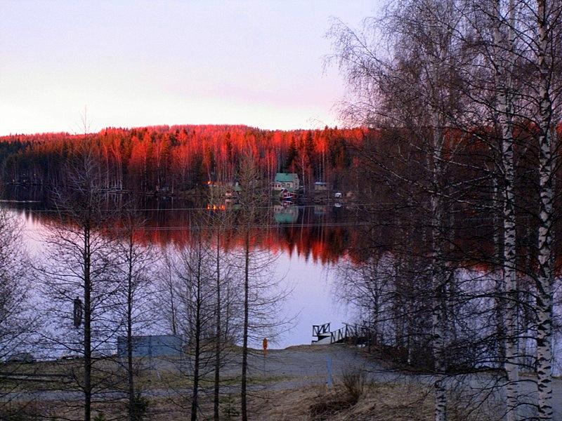 Finland, Varkaus, Spring