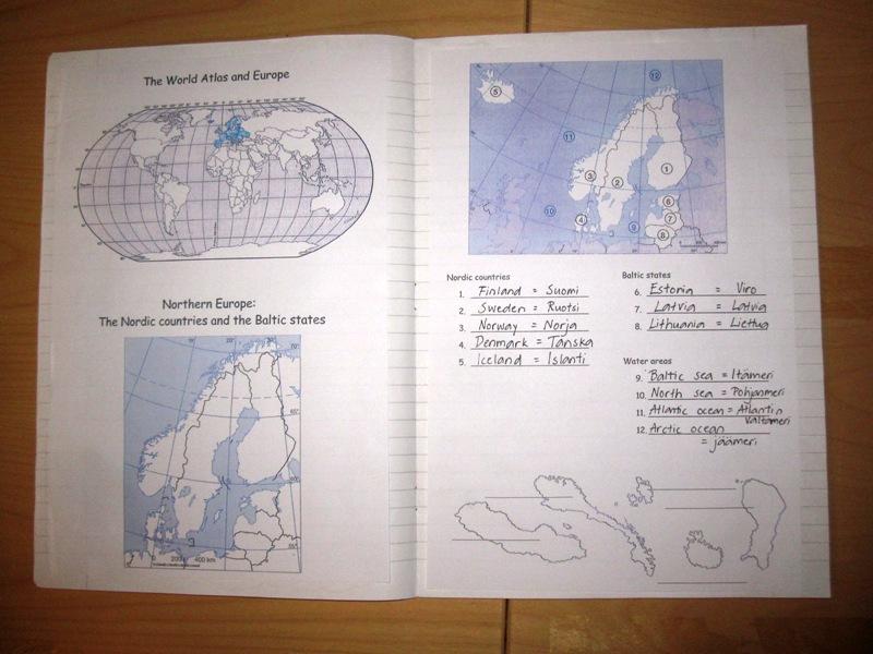 Самодельный учебник для урока географии