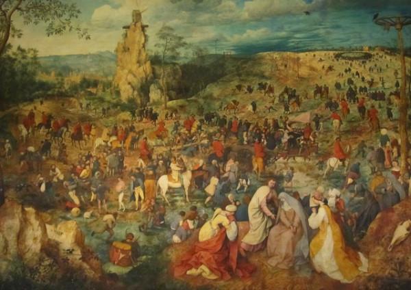 фрагмент картины брейгеля