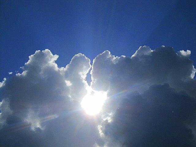 солнце выглянуло