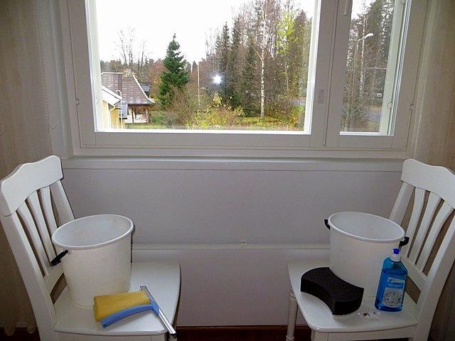 чем мыла окна