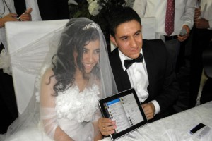 Пара поженилась в Твиттере