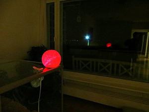 шар красный