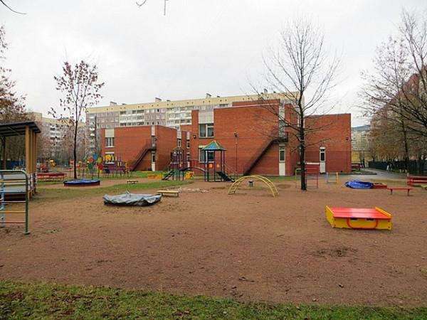 детская площадка в питере
