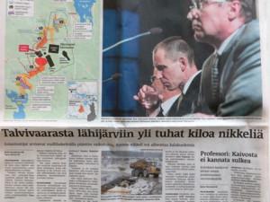 Хельсинки Саномат экологическая катастрофа