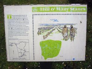план Hill O Many Stanes