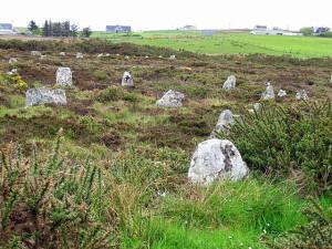 поселок около Hill O Many Stanes