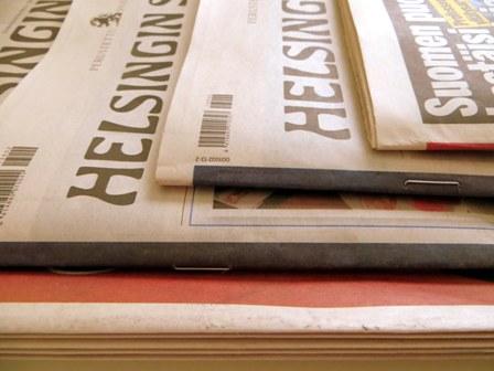 толщина газет