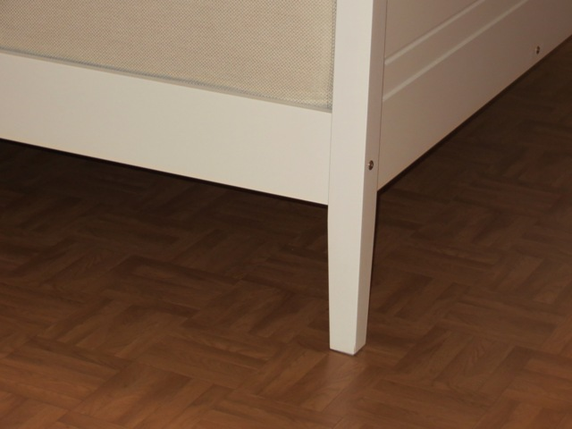 ножки кровати с тканевыми липучками