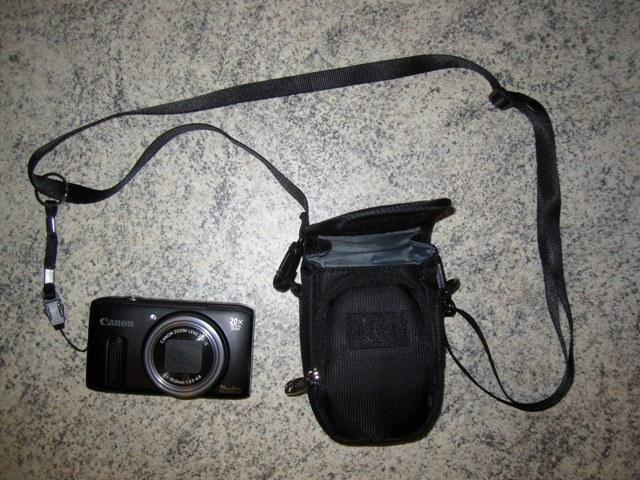 как пристегнуть камеру к новой сумочке  карабином с кольцом