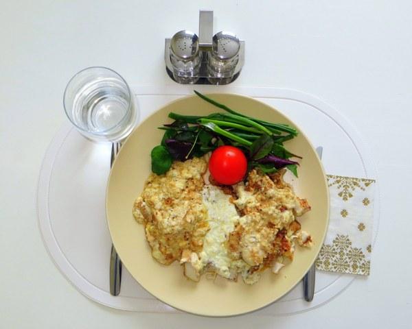 филе судака с сыром