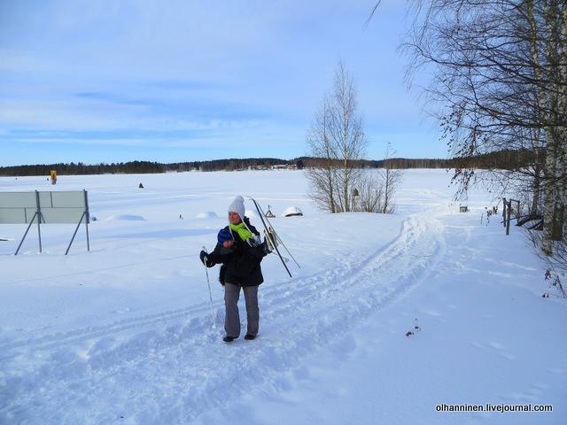 15-мама унесла меня с лыжами