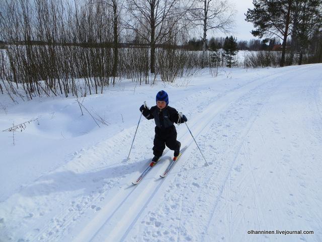 20-вот я какой - просто лыжная легенда - несусь с горы один