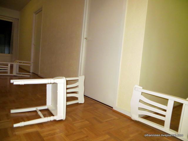 деление пространства посредством стульев