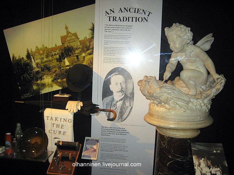 Читаем всякую интересную информацию о процессе создания курорта и музея