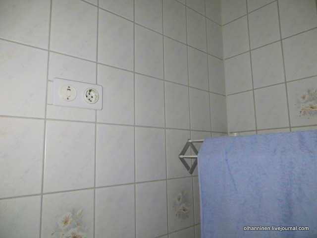 13-дополнительная розетка в ванной