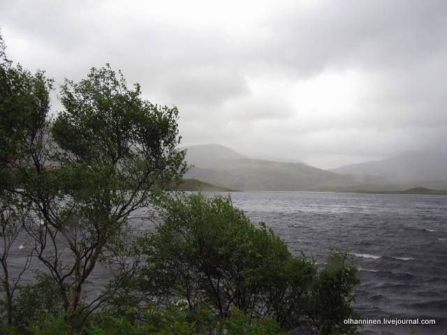 17-буря на горном озере