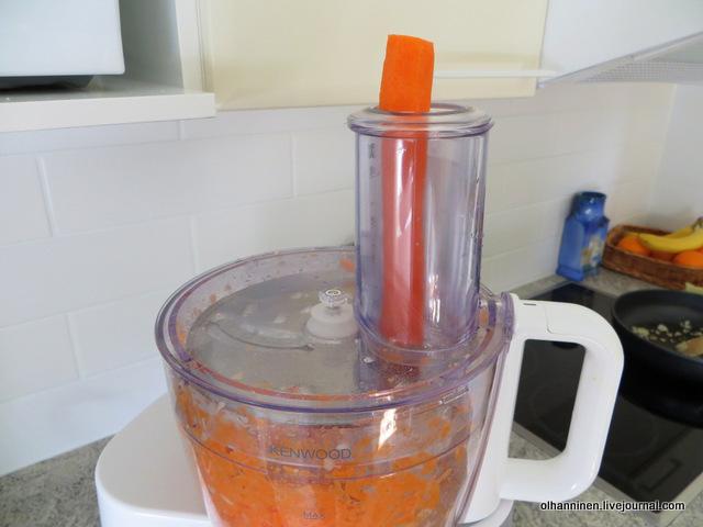 трет морковку