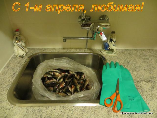 первоапрельская рыба