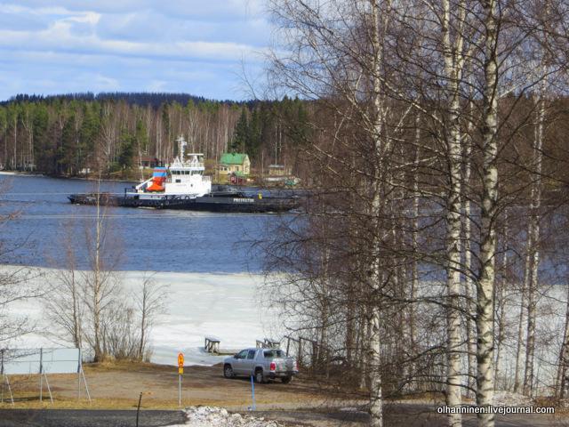 6-на озере Уннукка перед моими окнами