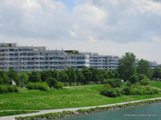 квартал на берегу Дуная