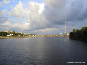 Большая Невка в Северной столице, Петроградский район