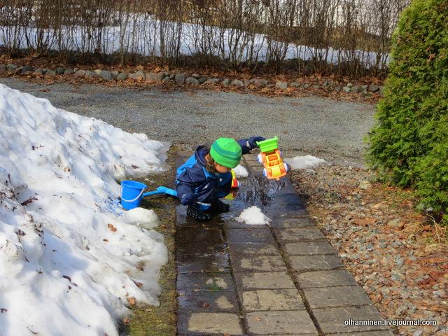 8 что произойдет с машиной и снегом