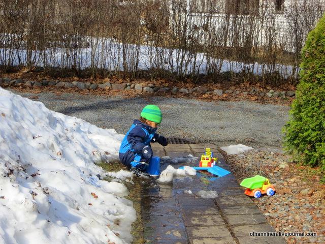 11 кулички лепим из снега