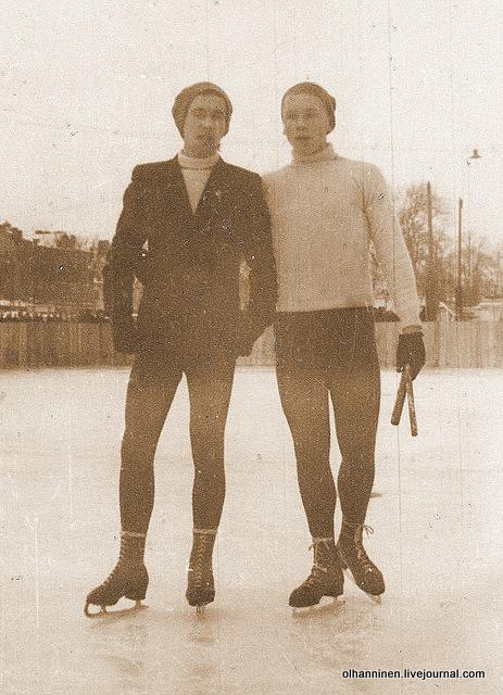Гера Аврутин и Олег Груздев, впоследствии Протопопов