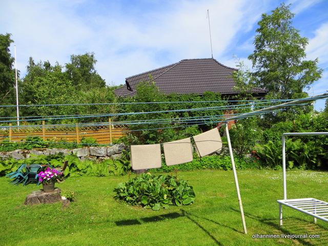 коврики в саду