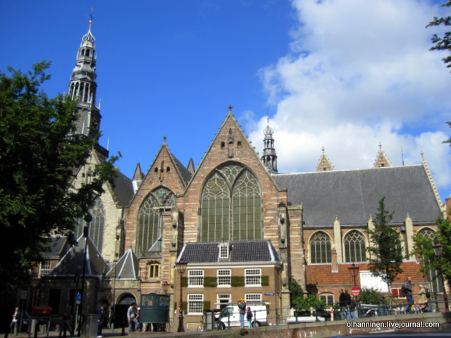 Аудекерк в Амстердаме, где похоронена Саския, жена Рембрандта Харменс ван Рейн