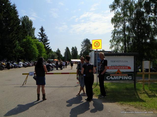 00 слет Harley Davidson в Kuntoranta Varkaus