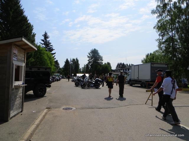 07 члены клуба  Harley Davidson in Finland