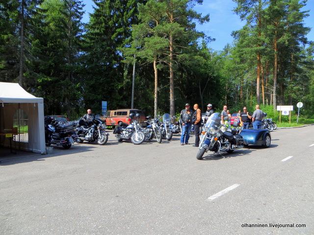 08 мотоциклы и палатка для записи на парад