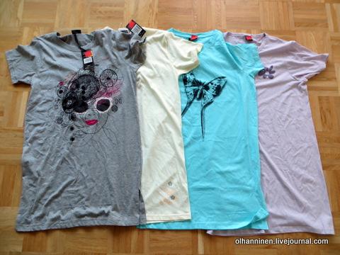 ночные рубашки, которые купила