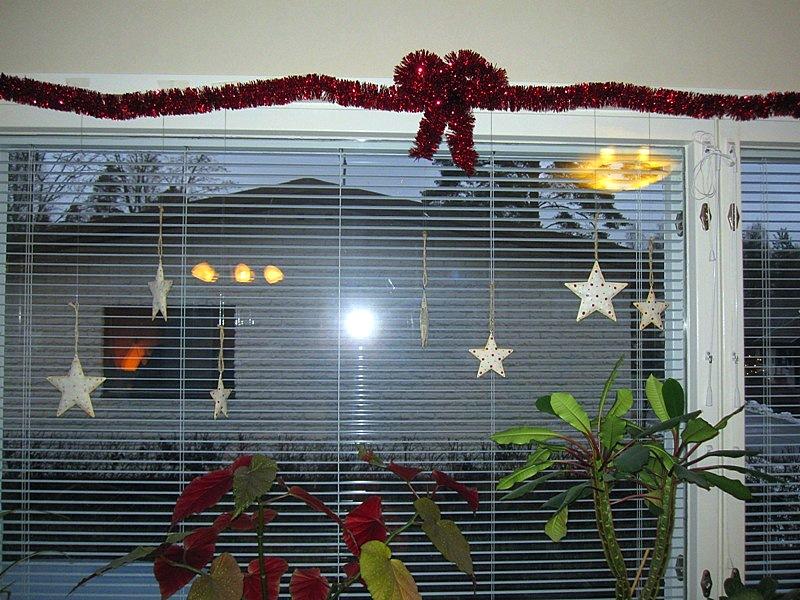 Вот старинные семейные звезды - новогодние украшения