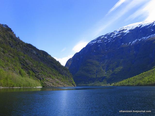 норвежский фиорд