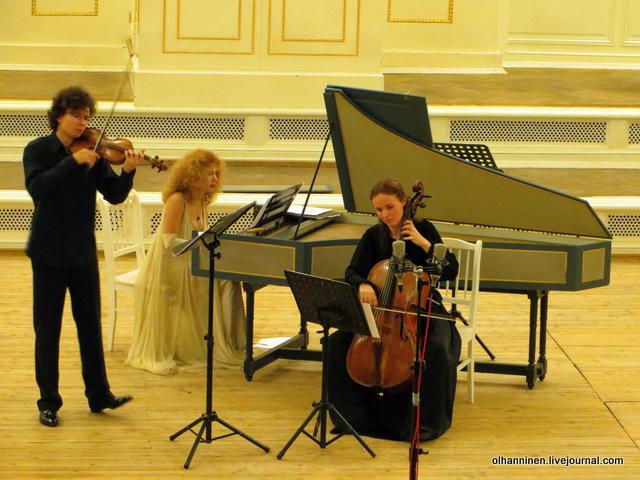09 скрипка, виолончель и клавесин