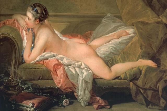 Франсуа Буше Отдыхающая девушка, 1752