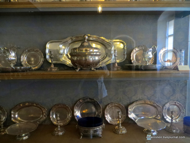 Мюнхенская резиденция еще один серебряный сервиз