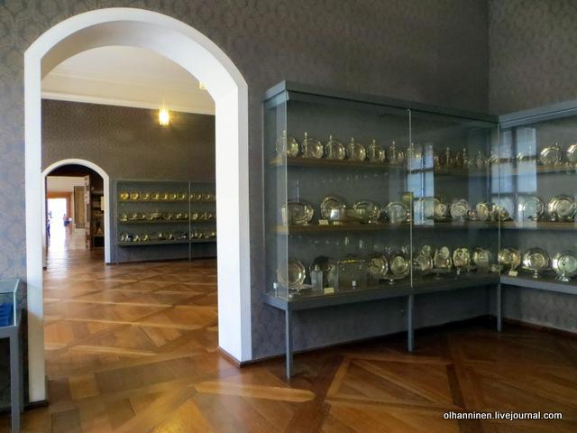 Мюнхенская резиденция залы с посудой