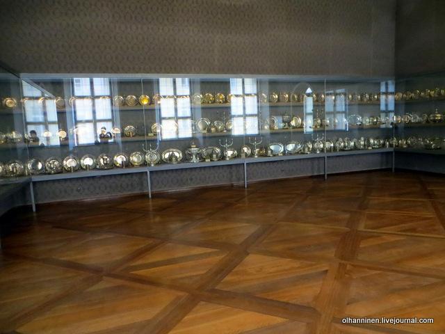 Мюнхенская резиденция посуда