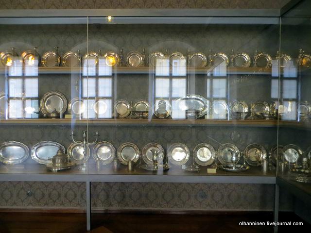 Мюнхенская резиденция серебряный сервиз