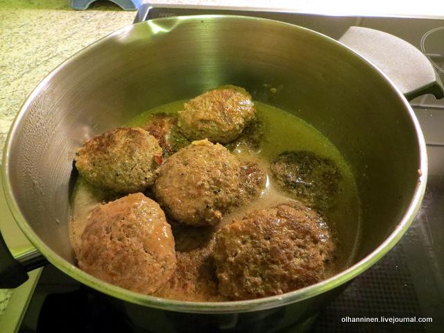 Как сделать подлив с котлетами без томатной пасты