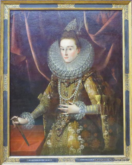 13 987 Juan Pantoja de la Cruz 1553 - 1608 Infantin Isabella Clara Eugenia von Spanien 1566 - 1633