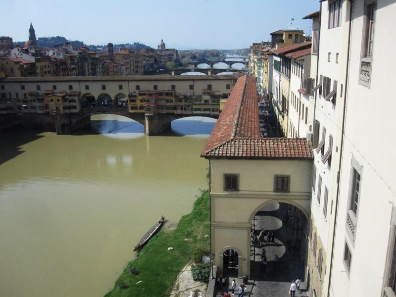 река Арно Флоренция