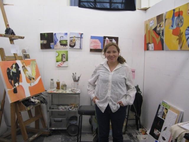 Anastasia Balashova, artist, Academy of Art, Sydney, Australia