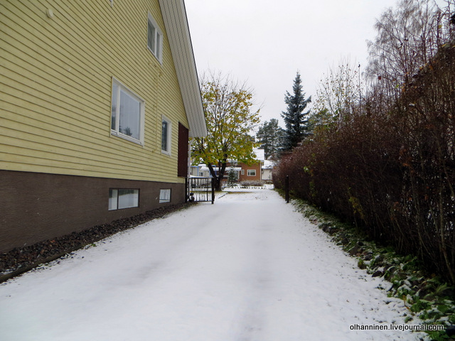 04 снег во дворах